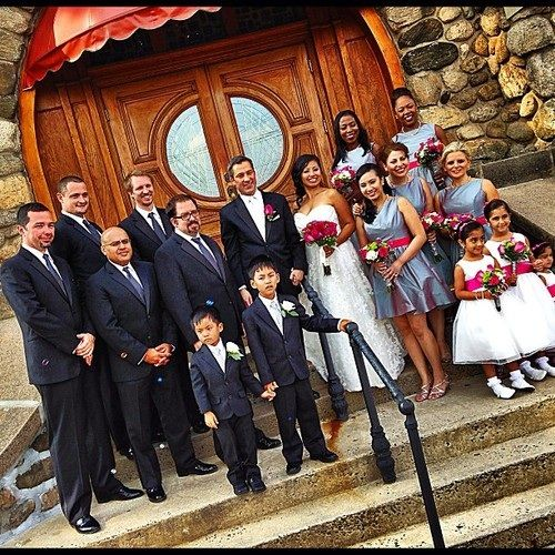 kkoobbii: Wedding!  #wedding #fancy #couples #newlyweds #interracialcouples