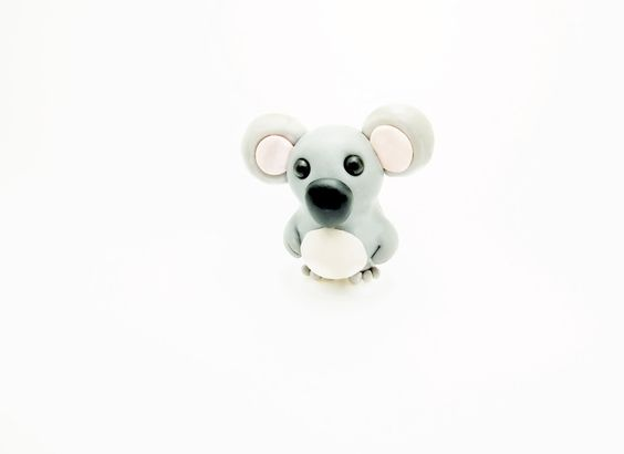 Koala+Bär+Kette+60cm+von+Woolystore+auf+DaWanda.com