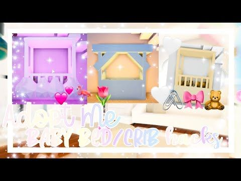 Adopt Me Baby Crib Ideas Adopt Me Baby Room Build Hacks Official Pineapples Youtube Cute Room Ideas Baby Room Design Simple Bedroom Design