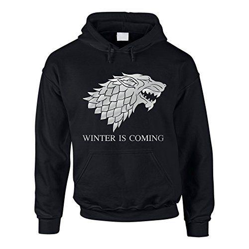 Hoodie Game of Thrones Winter is coming Kapuzenpullover Schattenwolf, schwarz-silber, L Shirtdepartment http://www.amazon.de/dp/B00P9M6GKM/ref=cm_sw_r_pi_dp_FbPEvb0Y431QZ