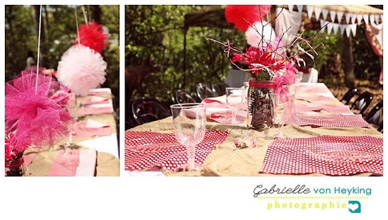 Woodland fairy party tablescape for the kid's table