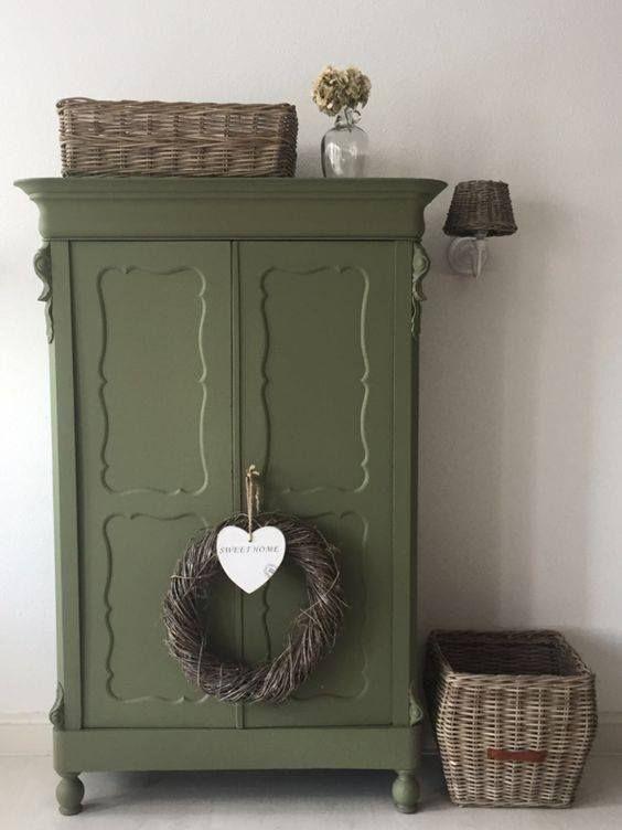 Kleur Van De Week Dusty Olive Groene Krijtverf Inspiratie