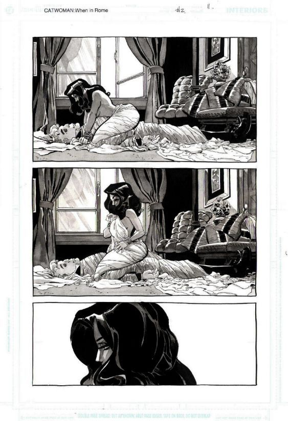 CATWOMAN WHEN IN ROME #2