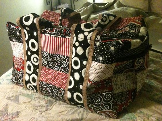 Travel Duffle Scrappy Style | Craftsy