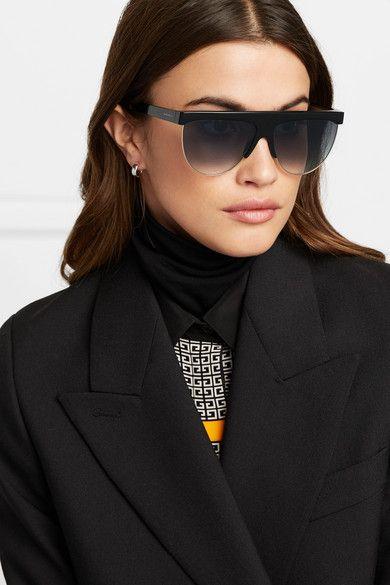 Givenchy Sonnenbrille Mit D Rahmen Aus Azetat Und Goldfarbenen