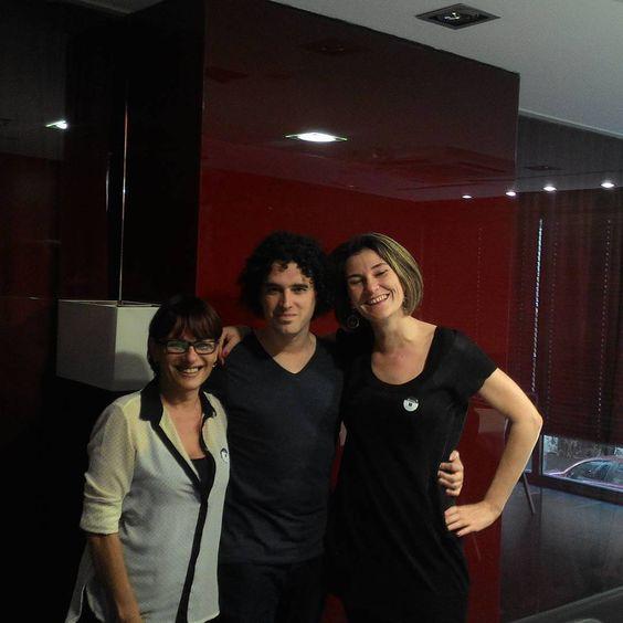 Alex Salgado y Golden Sex Dreams en la comida de prensa del Festival Erótico de Barcelona 2015 #SEB