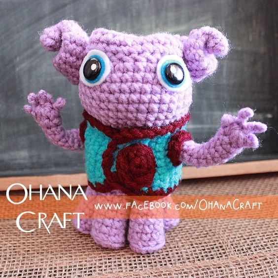 Crochet An Amigurumi Corner : Crochet Oh from the movie home inspired doll--https://www ...