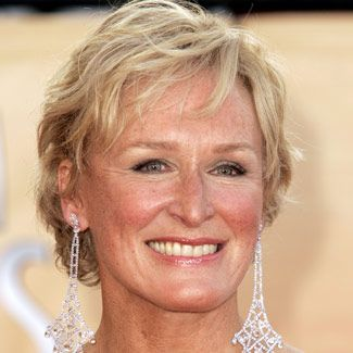 Glenn Close (she could lose the earrings though)