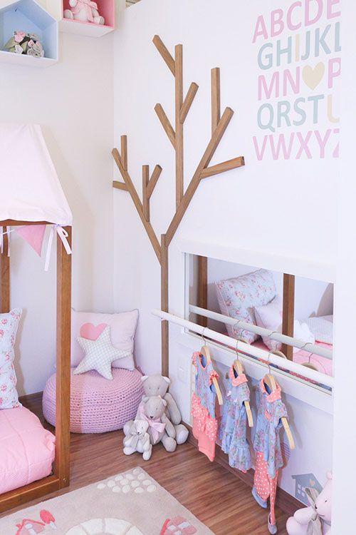 Quarto montessoriano (lindo!) para meninas | Casa | It Mãe