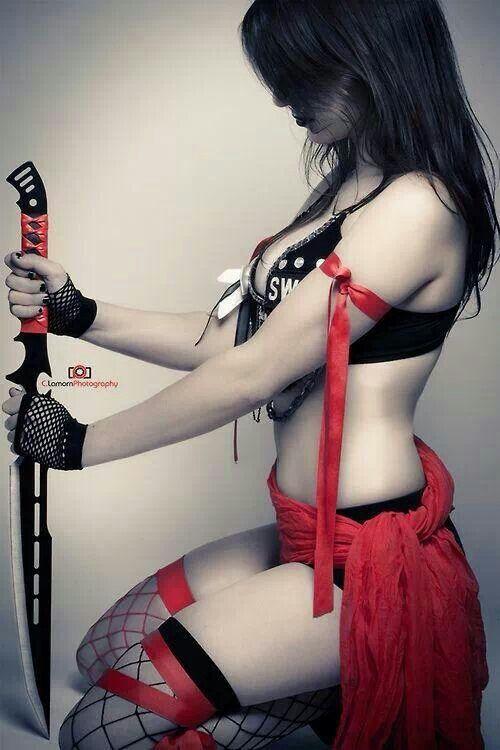 fucking sexy female ninja