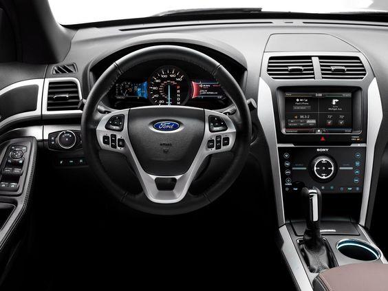 2014 Ford Explorer Interior Ford Explorer Interior Ford