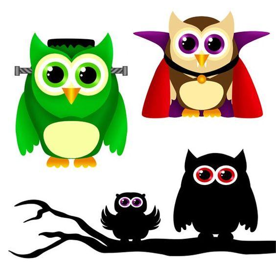 SHOP SALE Halloween Owls clip art.halloween clipart  #2014 #Halloween