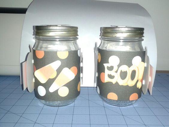 Halloween Center Piece Jars 2&3 Side 1