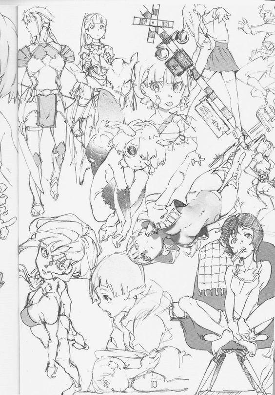 Bom Galera, passei a noite procurando algo que pudesse ajudá-los com seus desenhos, procurei em vários sites e emfim achei alguns rabiscos ...