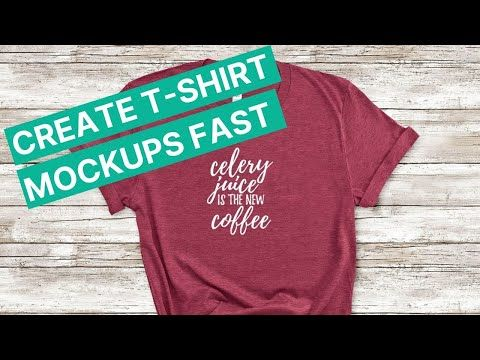 Download T Shirt Mockups Five Easy Ways To Create Them In Less Than Five Minutes Youtube Shirt Mockup Tshirt Mockup Shirts