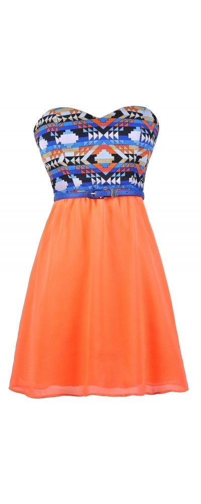 Wow I love the pattern and orange super cute never would have thought of this(: