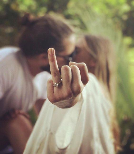 Engagement Ring Selfies We Love