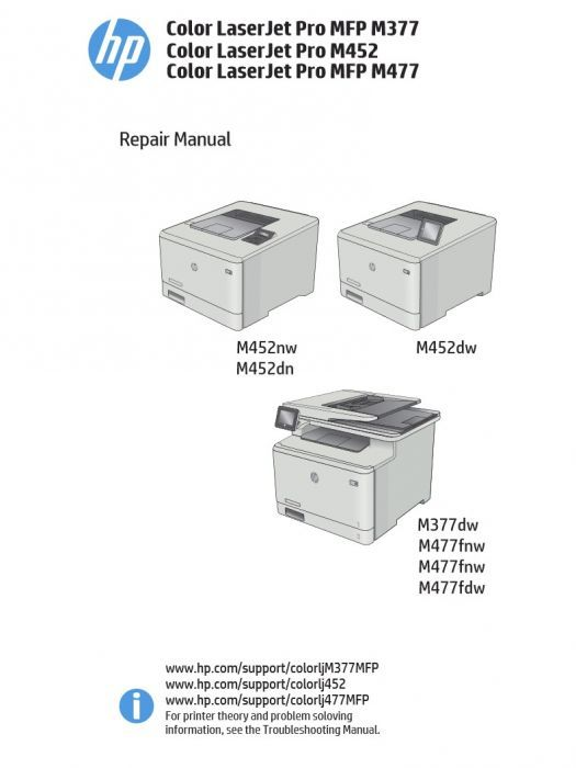 Hp Color Laserjet M477 Repair Manual In 2020 With Images Repair Manuals Color Repair