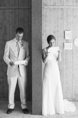 Southern Maryland Wedding First Look 2 275x412 Classic Southern Summer Wedding Ceremony in Maryland: Allie + Daniel