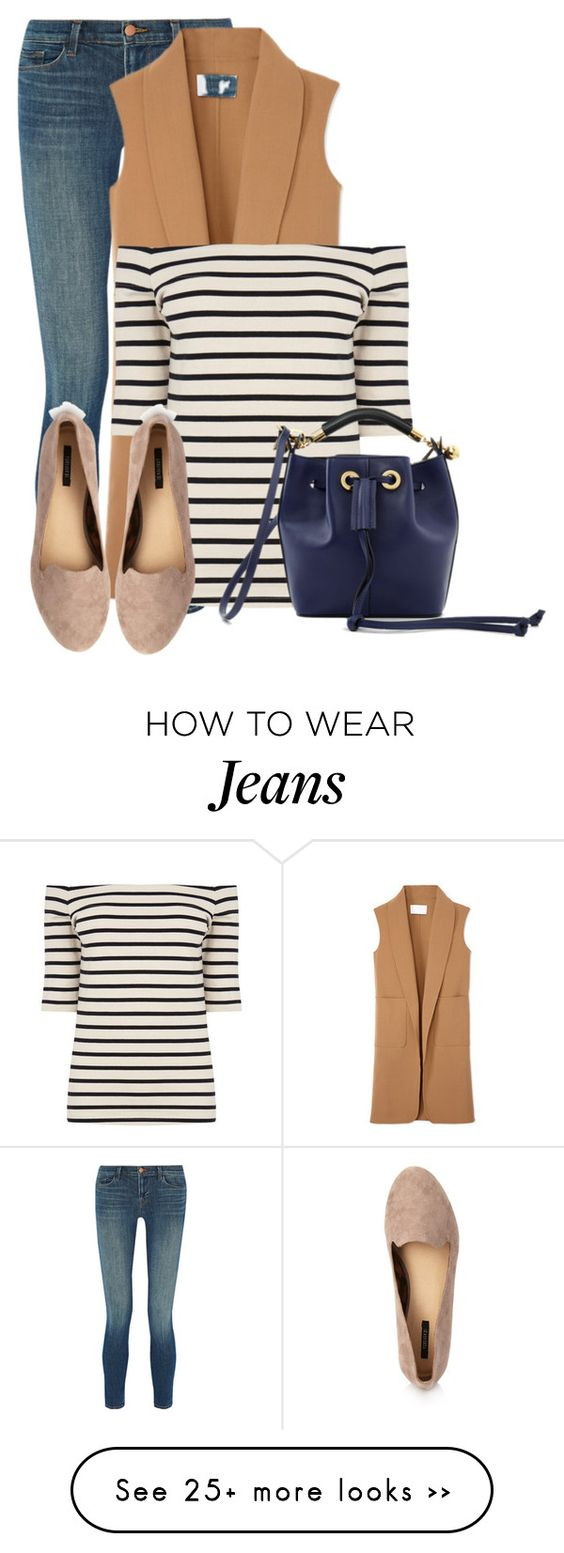 """Skinny Jeans & Loafers"" by bliznec on Polyvore featuring J Brand, Alexander Wang, Oasis, Forever 21 and Chloé:"