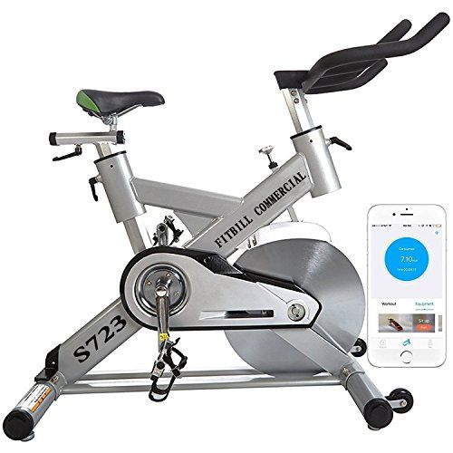 Fitbill S723 Smart Professional Indoor Cycling Bike With Bluetooth
