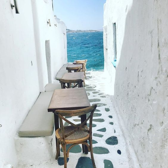 "More-Mode on Instagram: ""One of The most incredibile place in #Mikonos #breathtaking #Kastromikonos #corner #littlevenice #unafinestrasulmare #view #beautifulplace"""