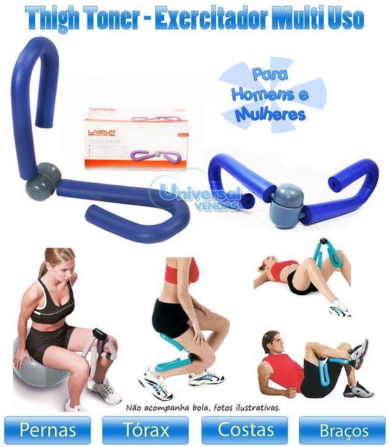 Premium Thigh Exerciser Slimmer Leg Master Tool Fitness Body Butt Toner Sculpt