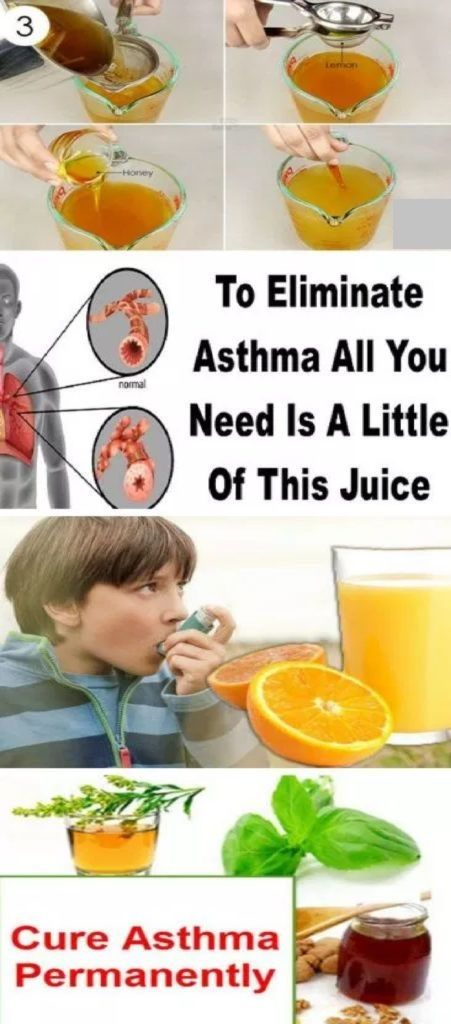 To Eliminate Asthma All You Need Is A Little Of This Juice...