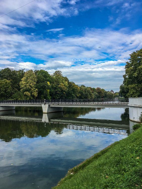 Нижний пруд в Калининграде сентябрьской порой. Фото Жени Шведы
