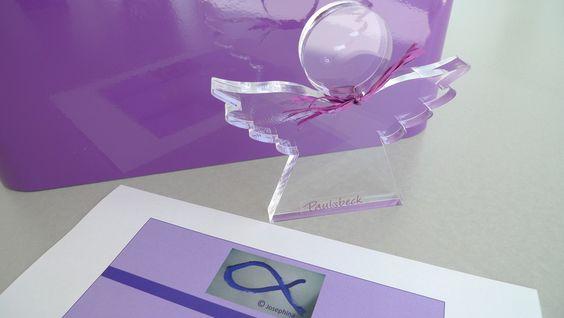 Gastgeschenke || Schutzengel  ||  Engel von PAULSBECK Buchstaben, Dekoration & Geschenke auf DaWanda.com