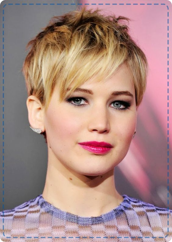 Jennifer Lawrence's pixie crop was one of our favourite hairstyles of 2013!
