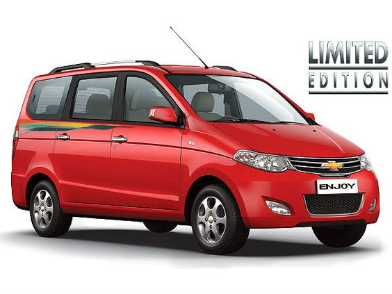 Chevrolet Enjoy Anniversary Limited Edition Model Announced