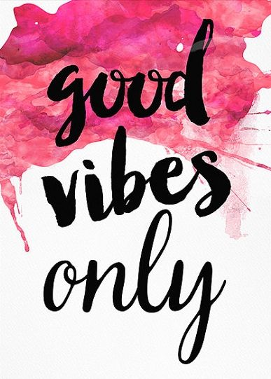 Good Vibes only, Motivational Wall Decor, Inspirational