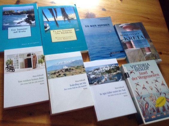 Bücher aus Kreta
