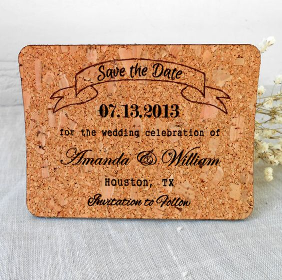 Cork Wedding Invitations: Wine Themed Weddings, Corks And Themed Weddings On Pinterest