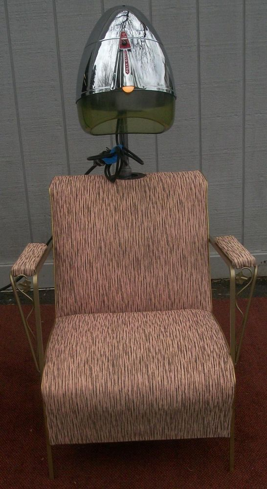 Salons salon chairs and hair dryer on pinterest - Salon chair with hair dryer ...