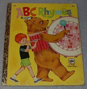 Little Golden Book, ABC Rhymes