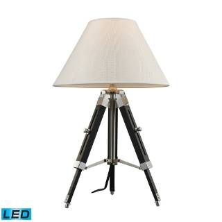 Check out the Dimond Lighting D2125-LED Studio 1 Light LED Table Lamp in Chrome and Black