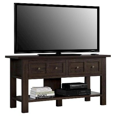 Dolan Apothecary Tv Stand For Tvs Up To 55 Wide Cherry Room Joy Red 55 Inch Tv Stand Tv Stand Designs Tv Stand Console