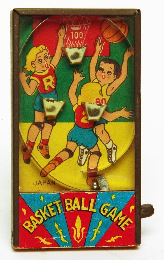 Vintage Japanese Basketball Game