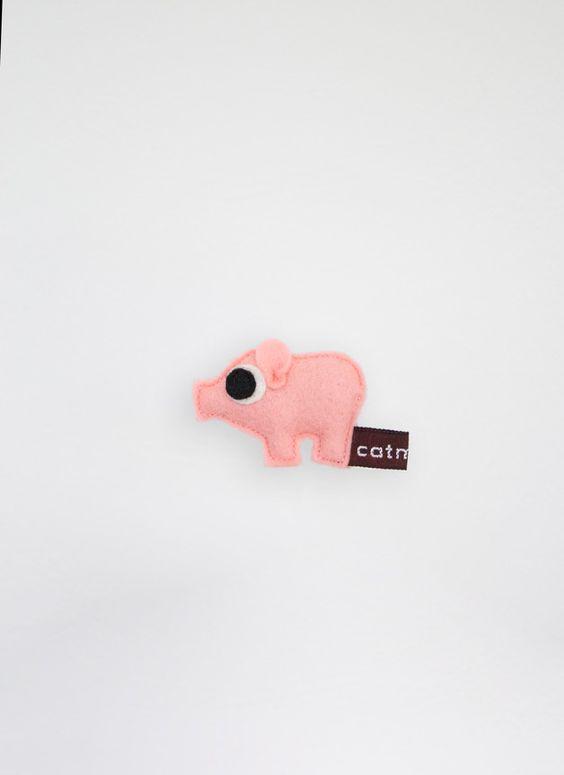 Glücksschweinchen - Das kleine Schweinchen - Glücksbringer - ein Designerstück von Catmade bei DaWanda