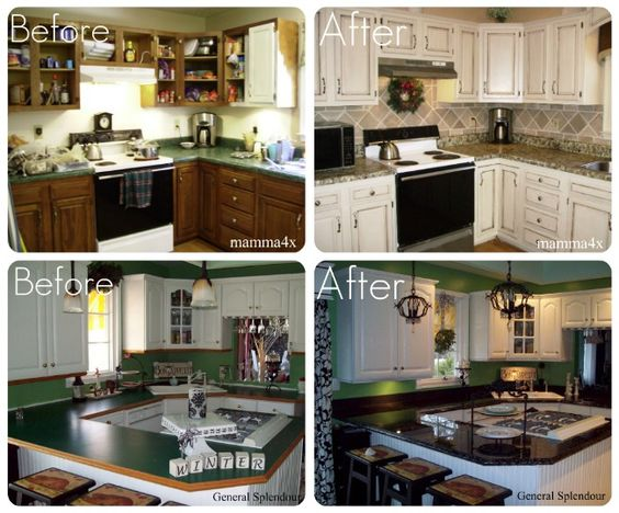 Updating your kitchen counters on a budget budget for Updating a kitchen