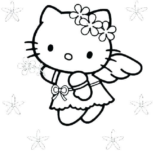 Angel Coloring Pages - GetColoringPages.com | 520x520