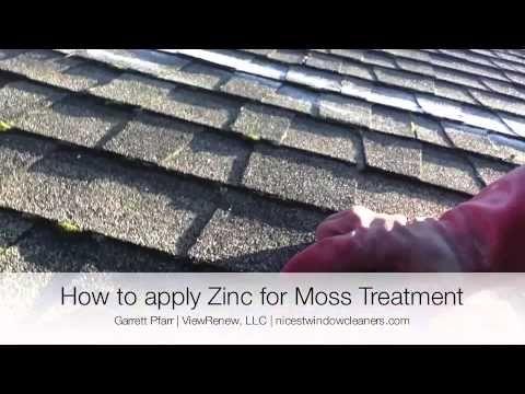 Zinc Sulfate For Moss Control Zinc Sulfate Gutters Zinc