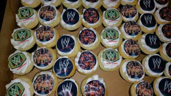 WWE Muffins by Cake Craze