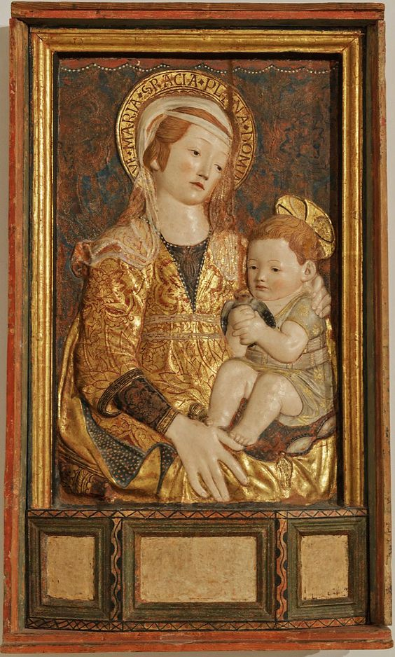 FErmo - Nicola Ulisse madonna con bambino