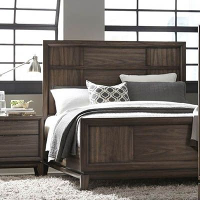 Urban Retro Queen Panel Bed - Bernie And Phyls