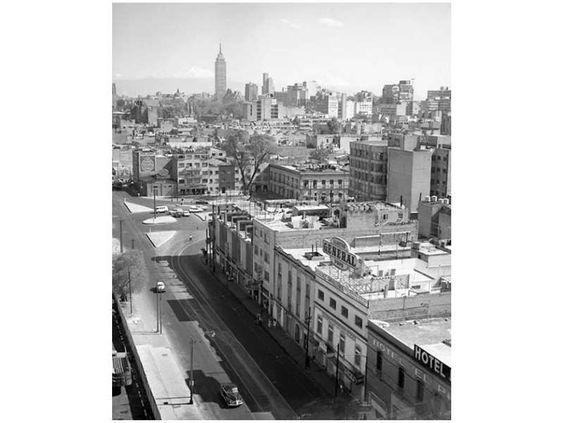 La colonia Buenavista, captada por el fotógrafo Bob Schalkwijk a mediados de los años 60. Se aprecia... - Proporcionado por El Universal Compañía Periodística S.A. de C.V.