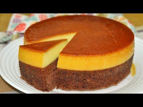 كيكة قدرة قادر او شوكو فلان بدون حليب مكثف بدون كريمة يخبز مرة واحدة والنتيجة مبهرةchocoflan Cake Youtube Desserts Food Cheesecake