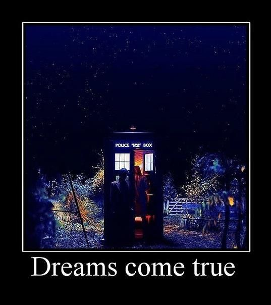 Dreams come true via @DoctorWhoHub